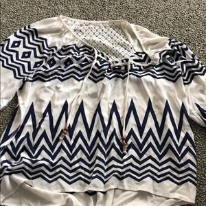 3/4 sleeve blouse from Buckle